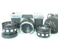 '  KOWA ' Kowa H Vintage SLR Camera Complete with Tele + Wide Lenses £24.99